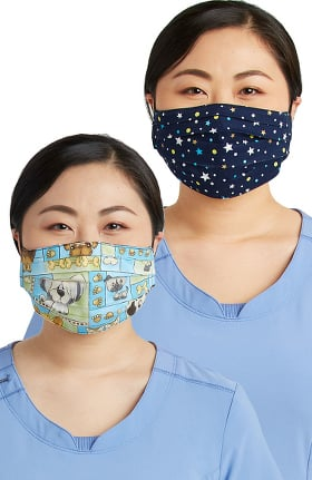 Cherokee Women's Reversible Pet Shop Boys & Starlet Print Face Mask