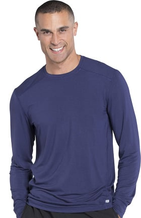 Clearance Infinity by Cherokee Men's Long Sleeve Solid Underscrub T-Shirt