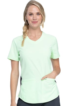 Infinity by Cherokee Women's Comfort Solid Scrub Top