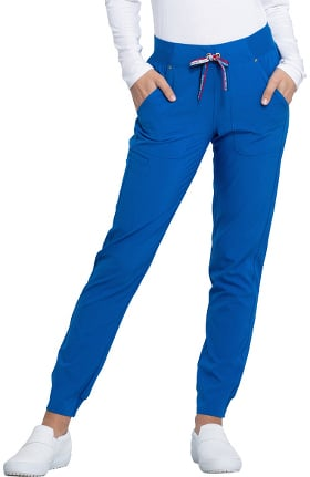 iflex featuring Katie Duke by Cherokee Women's Tapered Leg Jogger Scrub Pant