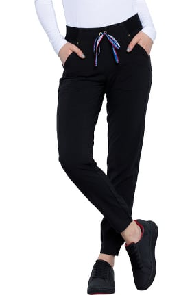 Clearance iflex featuring Katie Duke by Cherokee Women's Tapered Leg Jogger Scrub Pant