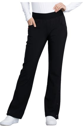 iflex featuring Katie Duke by Cherokee Women's Flare Leg Pull-On Scrub Pant