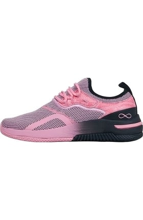 Infinity by Cherokee Women's Dart Breast Cancer Awareness Premium Athletic Shoe