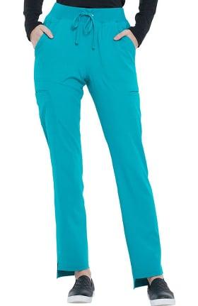 ELLE Women's Straight Leg Scrub Pant