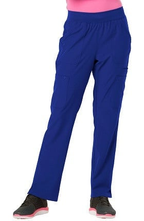 Break On Through by heartsoul Women's Drawn to Love Low Rise Cargo Scrub Pant