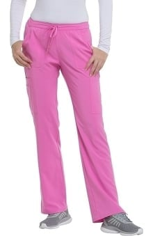 Love Always by heartsoul Women's Charmed Low Rise Drawstring Cargo Scrub Pant