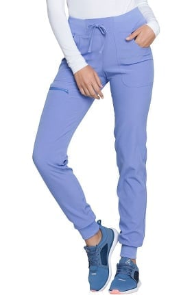 Break On Through by heartsoul Women's The Jogger Low Rise Tapered Leg Scrub Pant