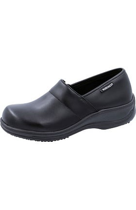 Cherokee Workwear Originals Women's Nola Leather Step-In Clog