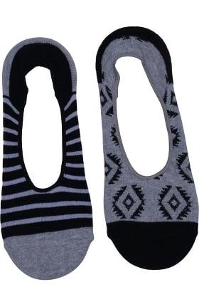 Footwear by Cherokee Women's 3 Pack Of Peek A Boo Fashion Print Sock Set