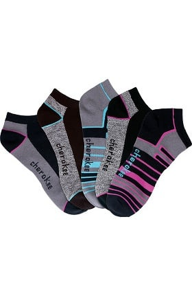 Footwear by Cherokee Women's No Show Sock 5 Pair Pack