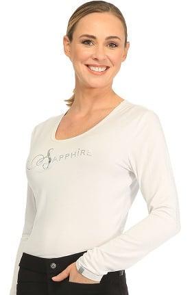 Sapphire Scrubs™ Women's Chelsea Long Sleeve Knit Underscrub