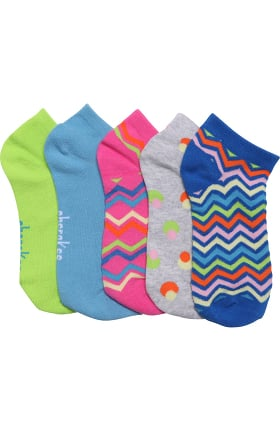 Footwear by Cherokee Women's 5 Pack Crew Sock