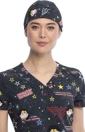 Tooniforms by Cherokee Unisex Be Heroic Print Scrub Hat