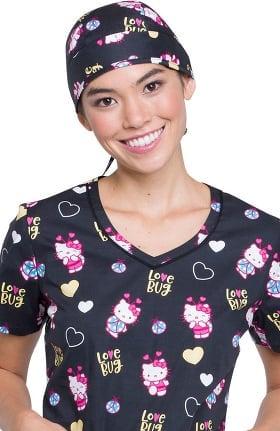 Clearance Tooniforms by Cherokee Women's Hello Kitty Print Scrub Hat