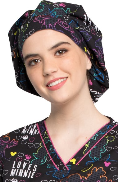 92334ace6d0 Tooniforms by Cherokee Unisex Bouffant Scrub Hat
