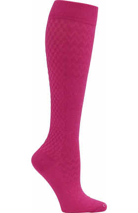 Footwear by Cherokee Women's True Support Wide 10-15 Mmhg Compression Sock