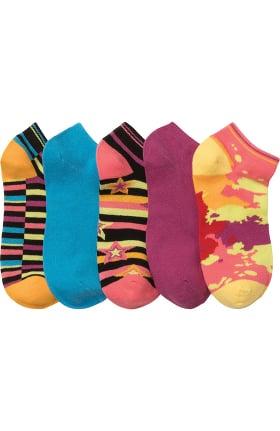 Footwear by Cherokee Women's No Show Socks 5 Pack