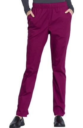 Professionals by Cherokee Workwear Women's Drawstring Tapered Scrub Pant