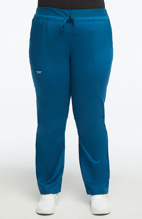 Revolution by Cherokee Workwear Women's Drawstring Tapered Leg Scrub Pant