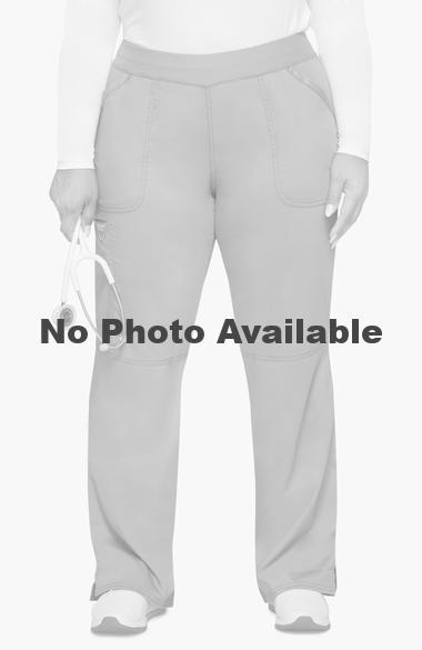 Scrubs Cherokee Workwear Mid Rise Pull On Pant WW110 WHT White Free Shipping