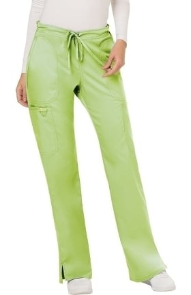 Clearance Revolution by Cherokee Workwear Women's Drawstring Flare Scrub Pant