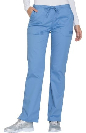 Core Stretch by Cherokee Workwear Women's Drawstring Cargo Scrub Pant