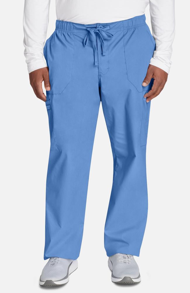 Khaki Cherokee Scrubs Workwear Professionals Mens Drawstring Pants WW190 KAK