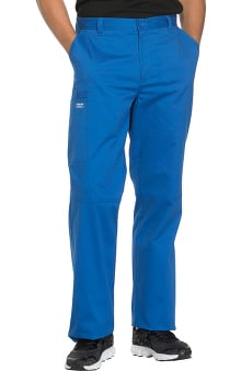 Core Stretch by Cherokee Workwear Men's Zip Fly Tapered Scrub Pant