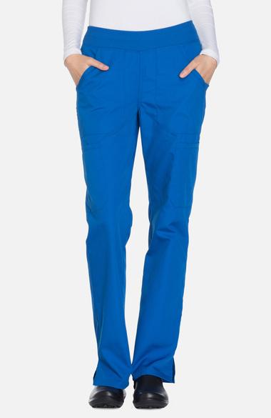 2b6035a2b4d Cherokee Workwear Originals Women's Straight Leg Pull-On Scrub Pant