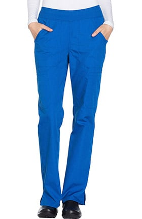 Cherokee Workwear Originals Women's Straight Leg Pull-On Scrub Pant