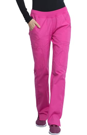 Clearance Cherokee Workwear Originals Women's Straight Leg Pull-On Scrub Pant