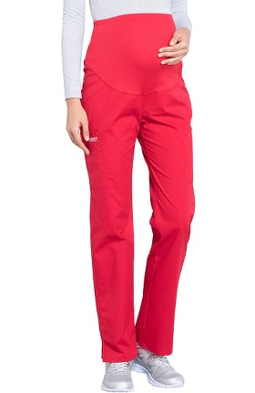 Professionals by Cherokee Workwear Women's Maternity Soft Knit Waistband Scrub Pant