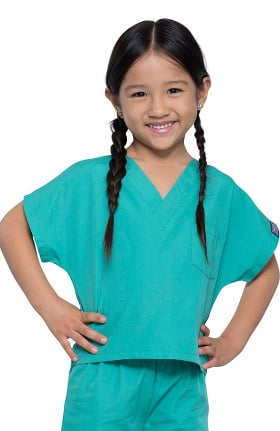 Cherokee Workwear Originals Unisex Kids Scrub Set