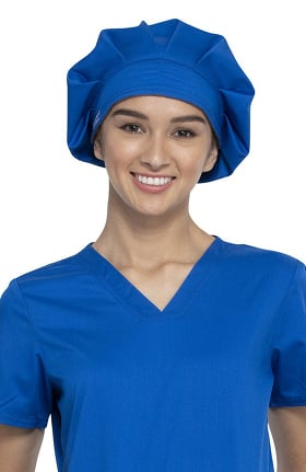 Revolution by Cherokee Workwear Unisex Bouffant Solid Scrub Hat