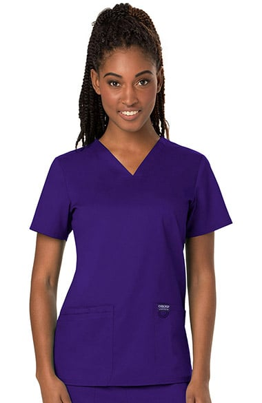 a2a3528295b Revolution by Cherokee Workwear Women's V-Neck Solid Scrub Top ...