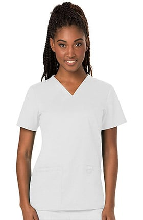 80f2187d30e Revolution by Cherokee Workwear Women's V-Neck Solid Scrub Top