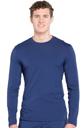 Professionals by Cherokee Workwear Men's Long Sleeve Solid Underscrub T-Shirt