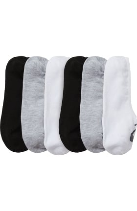 Clearance Asics Women's Low Cut Cushion Socks 3 Pack