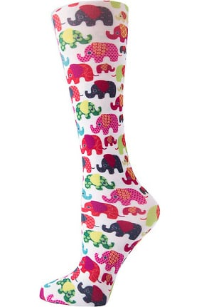 Cutieful Women's Nylon 8-15 mmHg Compression Sock
