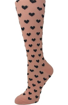 Cutieful Women's 15-20 mmHg Compression Sock