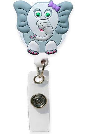Cutieful Retractable Rubber Badge Reel