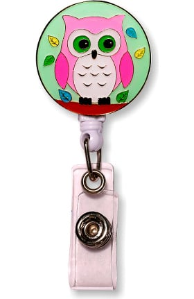 Cutieful Retractable Enamel Badge Reel