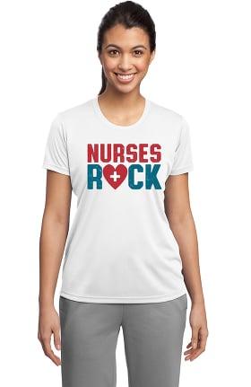 Clearance Cutieful Women's Short Sleeve Nurse Underscrub T-Shirt