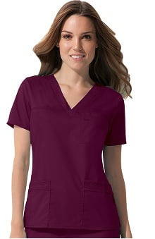 Gen Flex by Dickies Women's Youtility Solid Scrub Top