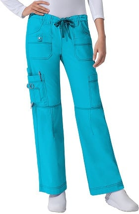 Clearance Gen Flex by Dickies Women's Youtility Drawstring Elastic Waist Scrub Pant