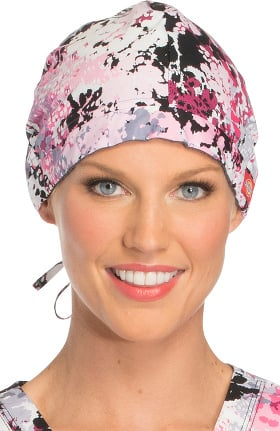 Fashion Prints by Dickies Unisex Abstract Print Scrub Hat