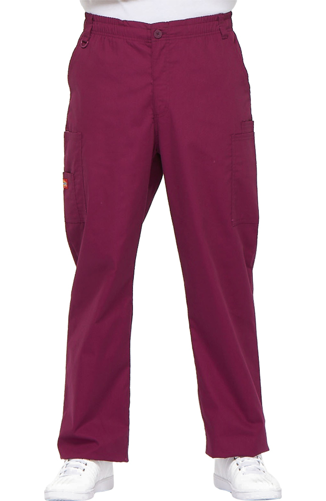 b858f7f1366 Everyday Scrubs Signature by Dickies Men's Zip Fly Pull On Scrub Pant
