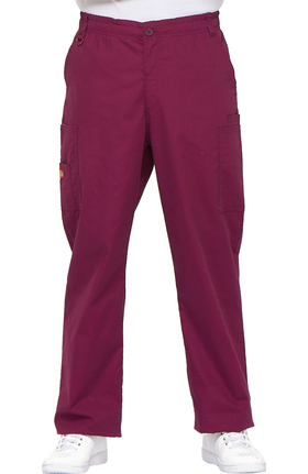 EDS Signature by Dickies Men's Zip Fly Pull On Scrub Pant