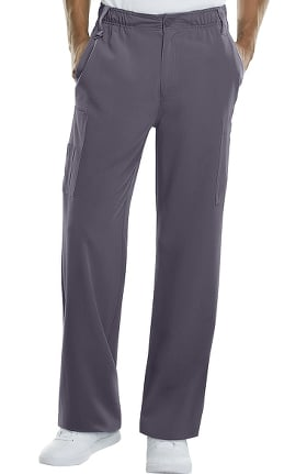 Xtreme Stretch by Dickies Men's Button Front Scrub Pant