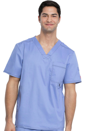 Gen Flex by Dickies Men's Youtility V-Neck Scrub Top